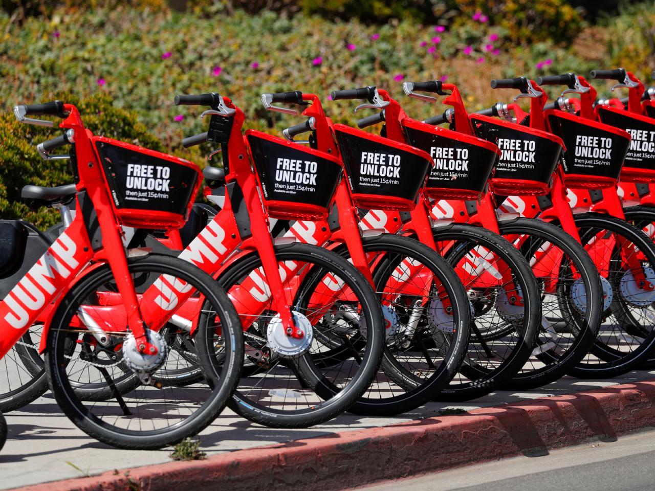 Uber的共享单车在亚特兰大和圣地亚哥遭遇监管问题,将全部回收