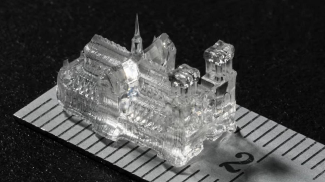 瑞士研究人员开发出一种新型的3D打印方法,能够在30秒内产生高精度物体。