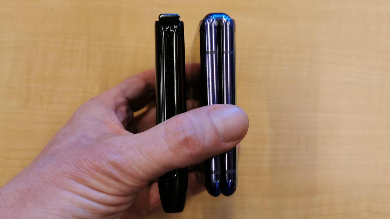 Motorola Razr vs. Samsung Galaxy Z Flip 哪个才是最好的可折叠手机