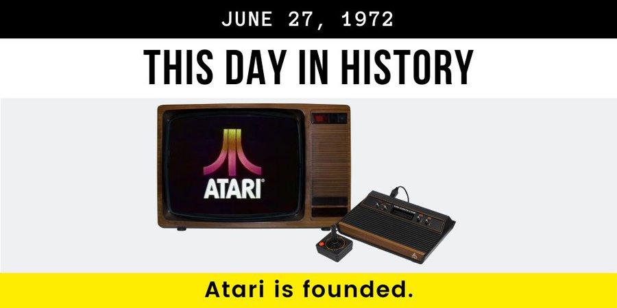 1972年6月27日 游戏机公司雅达利诞生 | 历史上的今天