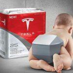 Elon Musk发了一张单手抱儿子的照片,纷纷引来网友恶搞