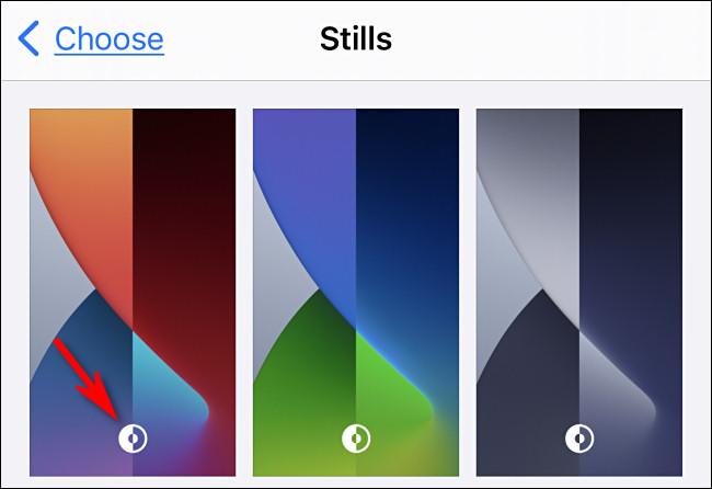 如何在黑暗模式下自动更改iPhone和iPad墙纸