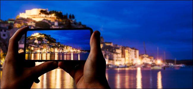 """智能手机相机上的""""夜间模式""""如何工作?"""