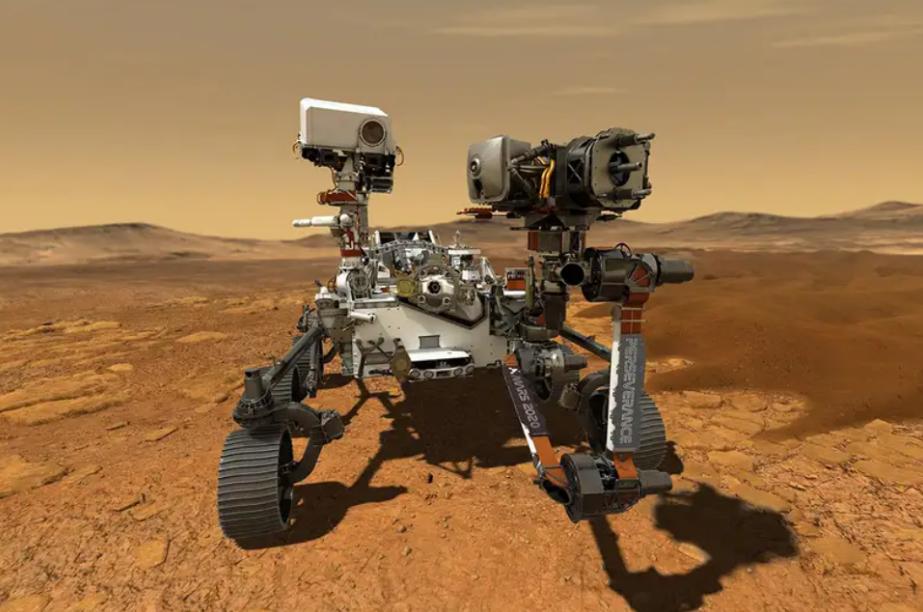 """刚刚登录火星的""""恒心""""漫游者火星车竟然用着23年前的CPU"""