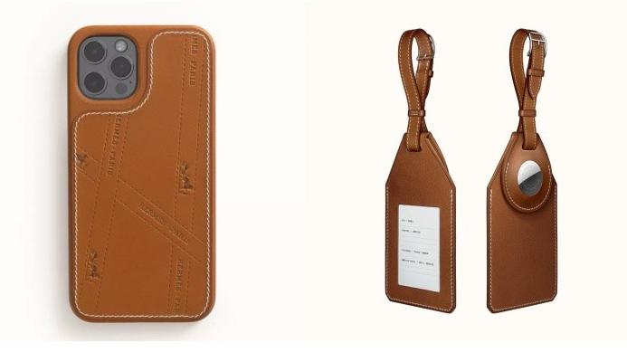 爱马仕Hermès 推出iPhone 12 保护壳、AirTag