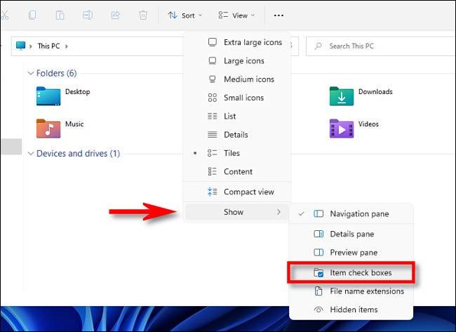 如何关闭 Windows 11 上的文件资源管理器复选框