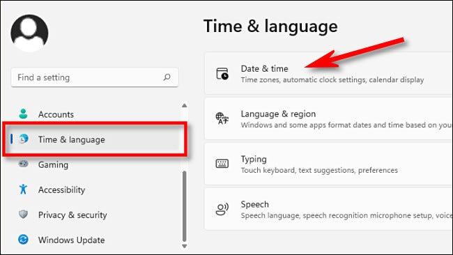 如何在 Windows 11 上更改时区