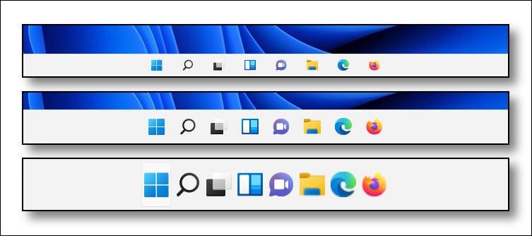 Windows11的任务栏大小怎么改变?
